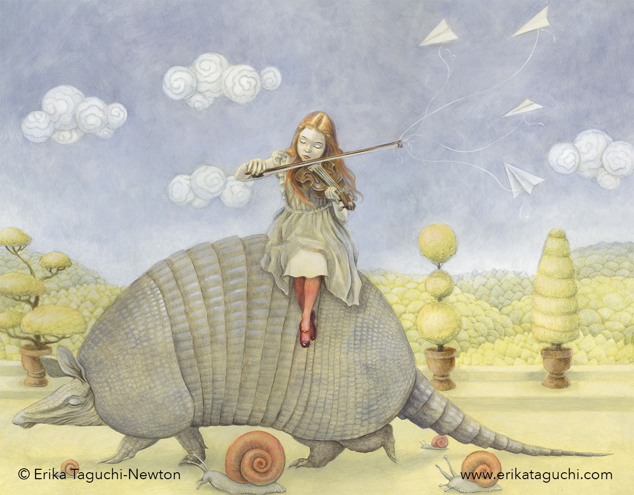 Armadillo Dream by Erika Taguchi-Newton